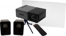 Projector-Screen-and-Speaker-Pack on sale