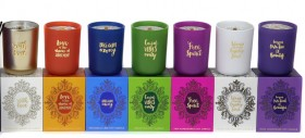 Inde-Quote-Candles on sale