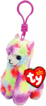 Beanie-Boos-Clips-Lola-Multi-Llama on sale
