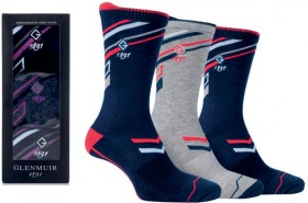 Glenmuir-Mens-Womens-Performance-Crew-Socks-3pk-Gift-Box on sale