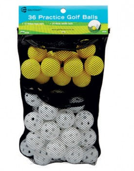 Golf-Craft-36-Practice-Balls-with-Bag on sale