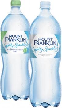 Mount-Franklin-Lightly-Sparkling-Water-1.25-Litre on sale