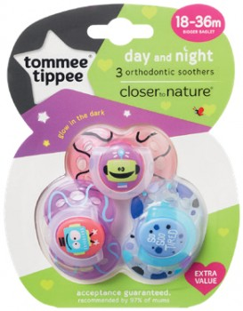Tommee-Tippee-3-Pack-Soother-18-36m on sale