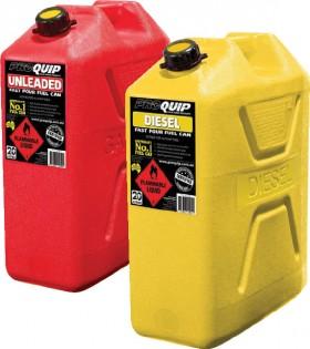 Proquip-20L-Plastic-Fuel-Jerry-Cans on sale