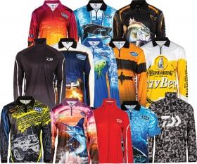 BCF-Daiwa-Savage-Gear-Bundaberg-Rum-BCF-Threads-Adult-Sub-Polos on sale
