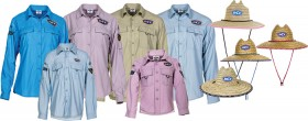 BCF-Adults-Fishing-Shirt-Straw-Hat-Pack on sale