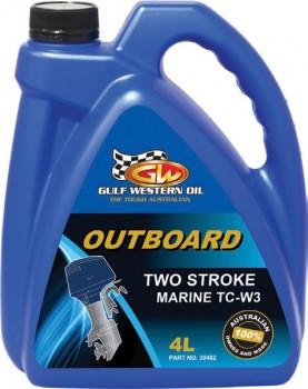Gulf-Western-Oil-2-Stroke-4L-Outboard-Oil on sale