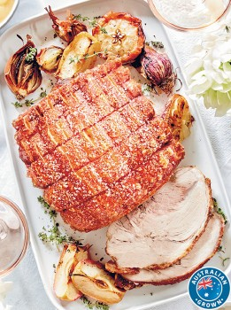 Coles-Australian-Pork-Shoulder-Roast-Boneless on sale