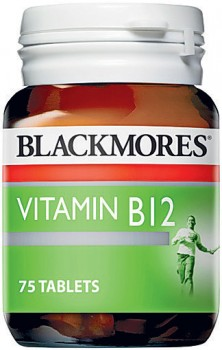 Blackmores-Vitamin-B12-75-Tablets on sale