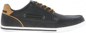 Kenji-Arcade-Boat-Shoes-Charcoal on sale