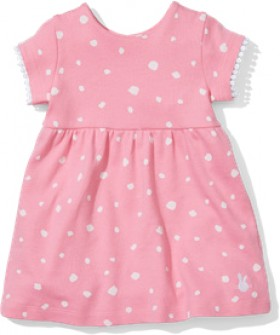 Sprout-Dress-Pink-Spot on sale