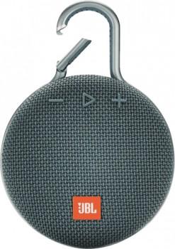 JBL-Clip-3-Portable-Bluetooth-Speaker-Blue on sale