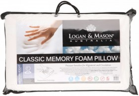 Logan-Mason-Classic-Memory-Foam-Pillow on sale