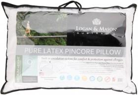 Logan-Mason-Pure-Deluxe-Pincore-Latex-Pillow on sale