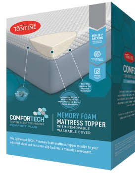 40-off-Tontine-Comfortech-Memory-Foam-Topper on sale