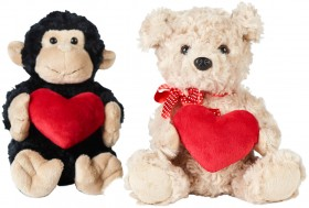 Valentines-Plush-with-Heart on sale