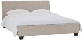 Bravo-Queen-Bed-in-Natural on sale