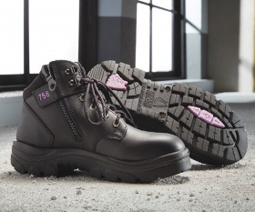 Steel-Blue-Womens-Parkes-Hiker-Style-Lace-Up-Ankle-Safety-Boots on sale