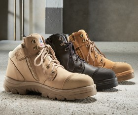Steel-Blue-Parkes-Hiker-Style-Lace-Up-Ankle-Safety-Boots-with-Scuff-Cap on sale