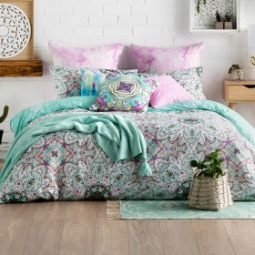 Ombre-Home-Tropical-Soul-Zareen-Quilt-Cover-Set on sale