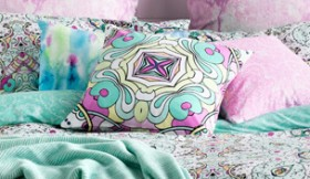 Ombre-Home-Tropical-Soul-Zareen-Cushion on sale