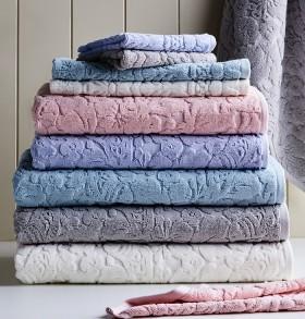 Koo-Rose-Jacquard-Towel-Range on sale
