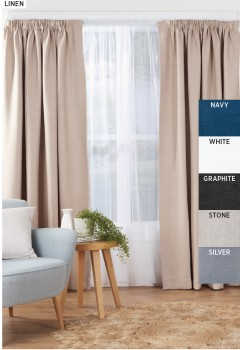 30-to-40-off-Rylee-Room-Darkening-Pencil-Pleat-Curtains on sale