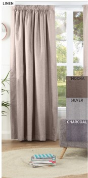 30-to-40-off-Contempo-Blockout-Pencil-Pleat-Curtains on sale