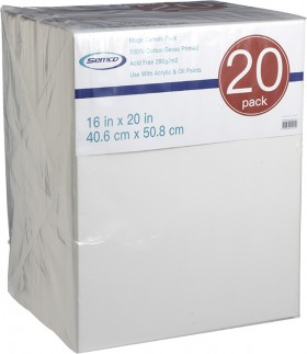 Semco-16-x-20-Mega-Canvas-20-Pack on sale