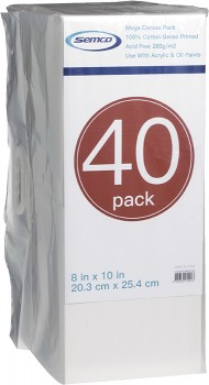 Semco-8-x-10-Mega-Canvas-40-Pack on sale
