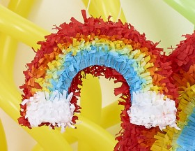 Mini-Rainbow-Pinata on sale