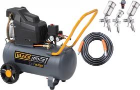 Black-Ridge-Hi-Flow-2.5HP-Air-Compressor-Combo on sale