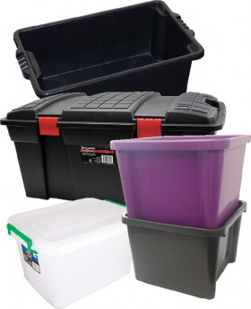 Large-Plastic-Storage-Boxes on sale