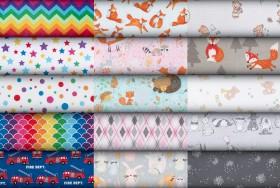 NEW-Print-Plain-Flannelette on sale