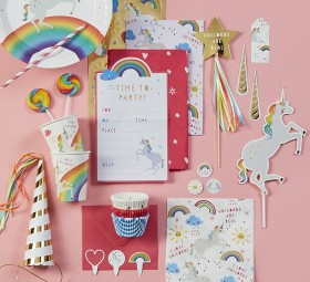 20-off-Rainbow-Unicorn-Tableware on sale