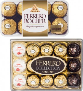 Ferrero-Rocher-Chocolates-Gift-Box-16-Pack-or-Collection-15-Pack on sale