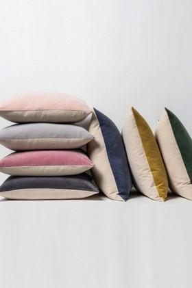 Empire-Velvet-Linen-Cushion on sale
