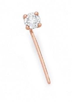 9ct-Rose-Gold-Diamond-Nose-Stud on sale
