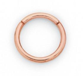 9ct-Rose-Gold-Diamond-Nose-Ring on sale