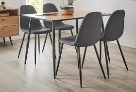 NEW-Seaforth-5-Piece-Dining-Set-with-Mambo-Chairs on sale