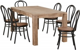 Toronto-7-Piece-Dining-Set-with-Replica-Bentwood-Chairs on sale