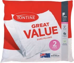 50-off-Tontine-Great-Value-European-Pillows-2-Pack on sale