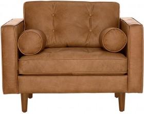 Copenhagen-Leather-Armchair-107-x-100-x-83cm on sale