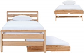 Storabed-King-Single-with-Trundle-Bed-and-Castors on sale
