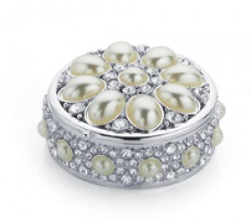 Sterling-Silver-Pearl-Trinket-Box on sale