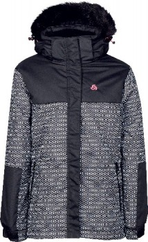 Chute-Youth-Pippa-Print-Snow-Jacket on sale