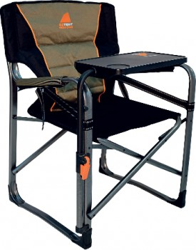 Oztent-Gecko-Chair-with-Side-Table on sale