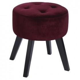 Ombre-Home-Winter-Luxe-Velvet-Footstool on sale