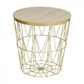 NEW-Ombre-Home-Winter-Luxe-Side-Table on sale