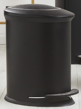 30-off-Lock-Stock-Barrel-Metal-Bin-Oval-Black-25L on sale